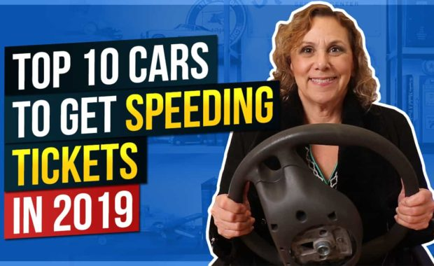 Top 10 Cars to Get Speeding Tickets in 2019 Thumbnail