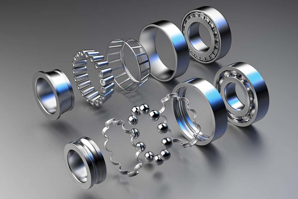 Illustration of an Automotive Wheel Bearing