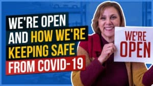 We're Open and How We're Keeping Safe from Covid-19