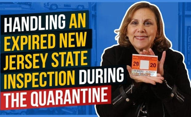 Handling an Expired New Jersey State Inspection During the Quarantine