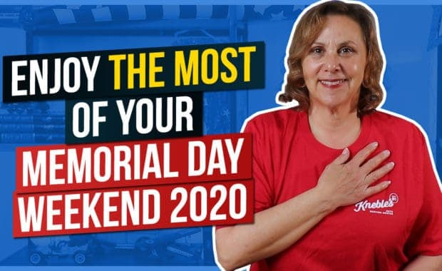 Enjoy the most of your Memorial Day Weekend 2020
