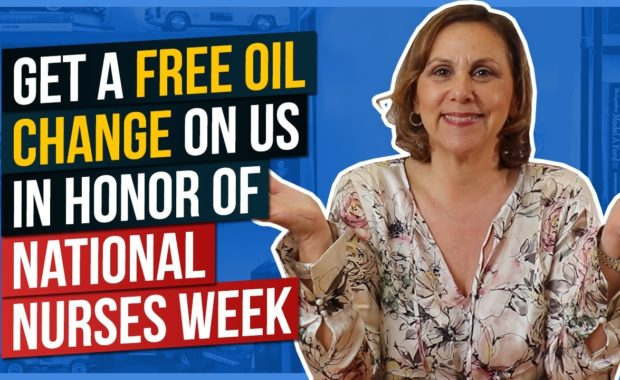 Get a Free Oil Change on Us in Honor of National Nurses Week
