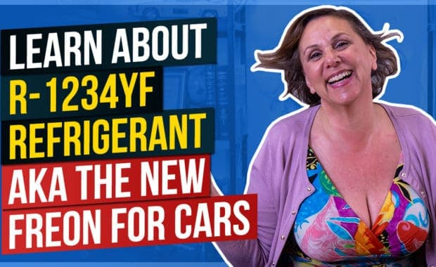 Learn About R1234YF Refrigerant aka The New Freon For Cars