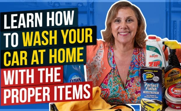 Learn How to Wash Your Car at Home with the Proper Items
