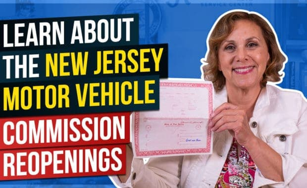 Learn About the New Jersey Motor Vehicle Commission Reopenings